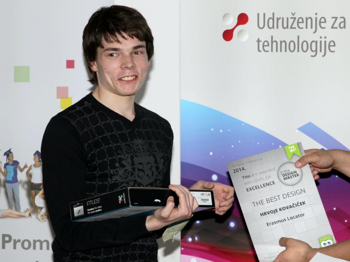 Posebnu nagradu za dizajn osvojio je Hrvoje Kovačićek