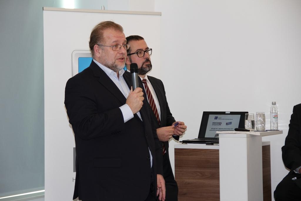 Nikola Dujmović pozdravio je prisutne u ime suorganizatora, CISExa
