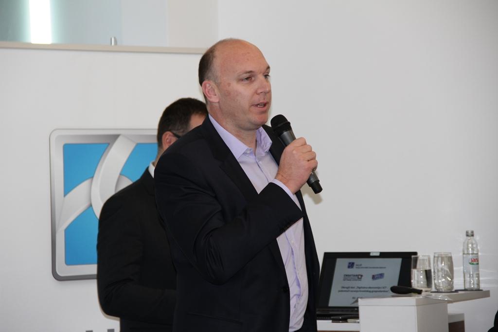 Adrian Ježina, predsjednik HUP-ICT-a