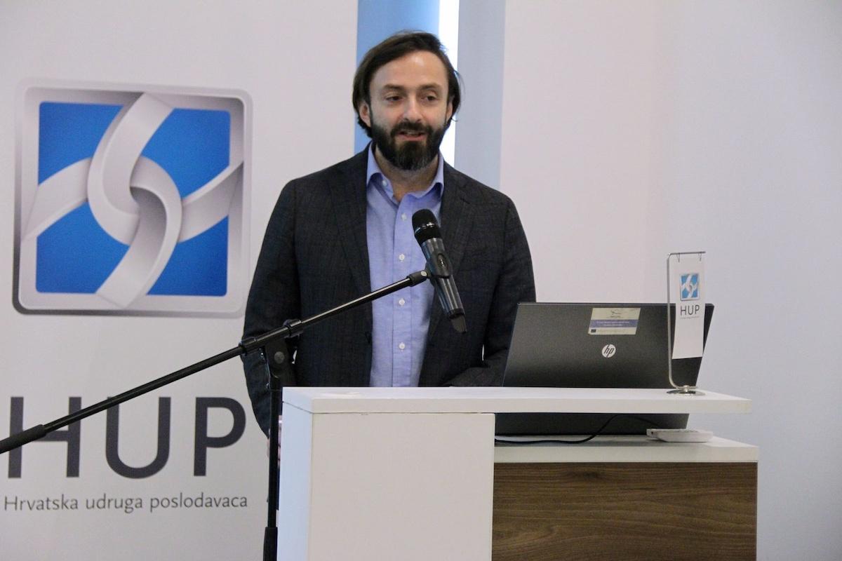 Boris Drilo, predsjednik HUP- Udruge informatičke i komunikacijske djelatnosti i član Uprave HT-a